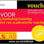 Gratis training voor UU-studenten via Skills Lab